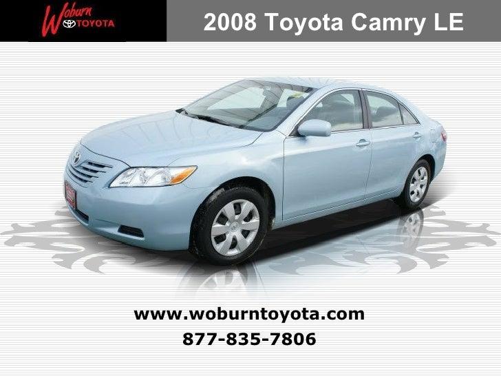 Used 2008 Toyota Camry LE - Boston