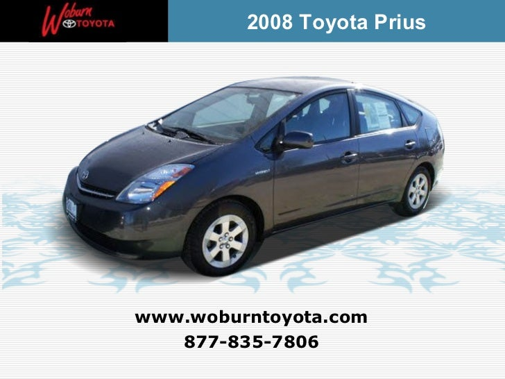 Boston - Used 2008 Toyota Prius