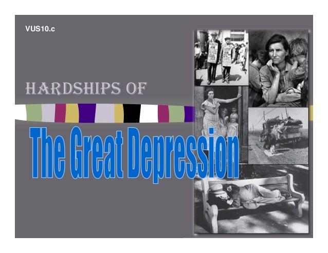 2008vus10c depression hardships