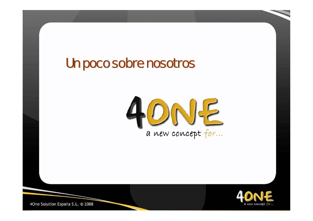 2008 Welcome 4one 1