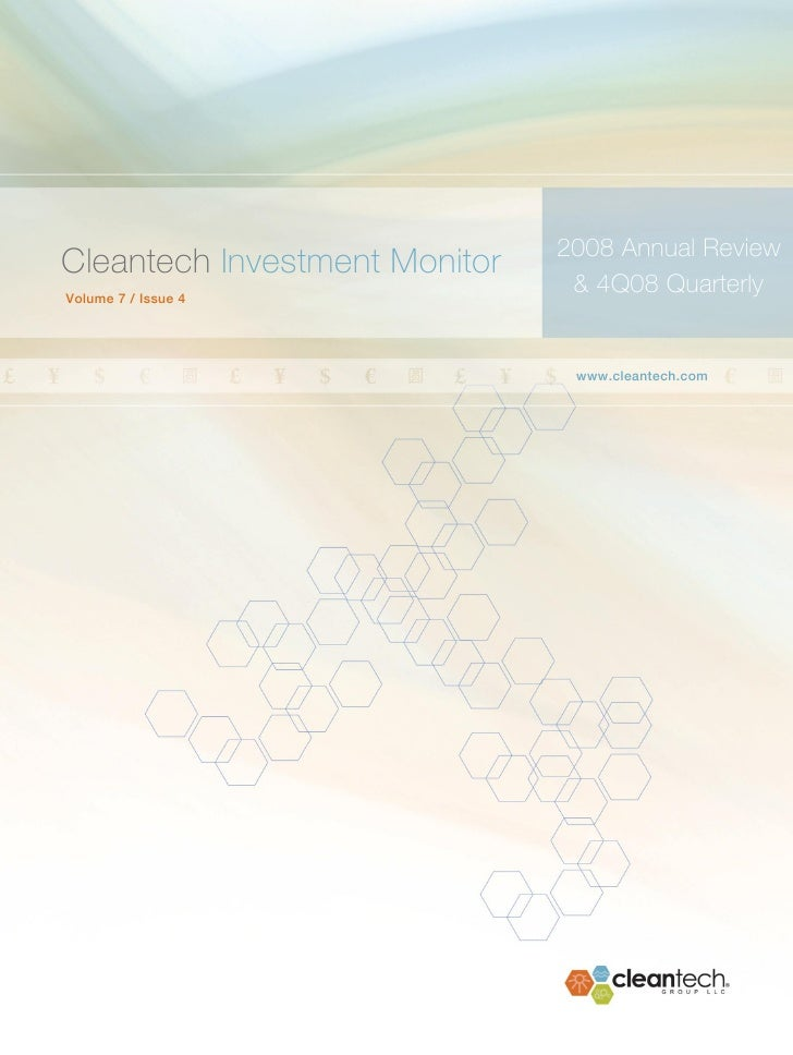 2008 Annual Review & 4Q08 Quarterly Investment Monitor                                                                    ...