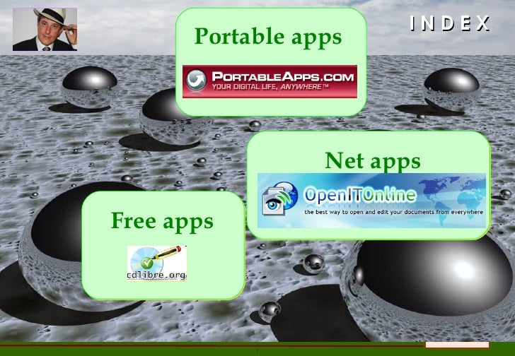 I N D E X Free apps Portable apps Net apps