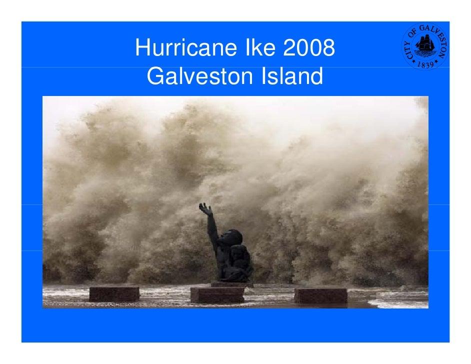 Hurricane Ike 2008  Galveston I l d  Gl         Island