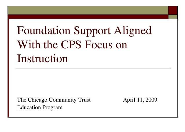 2009 04-11 presentation for ron on instruction - draft 8