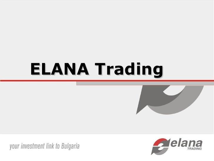 ELANA Trading
