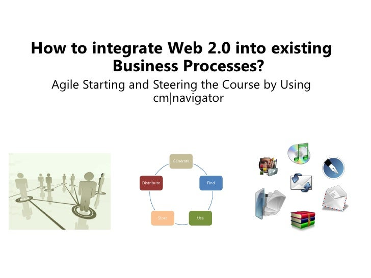 How to integrate Web 2.0 into existing           Business Processes?   Agile Starting and Steering the Course by Using    ...