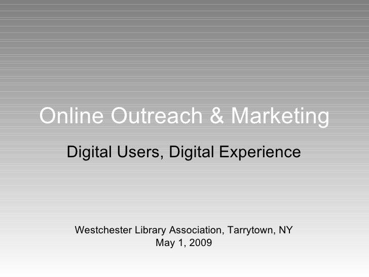 Online Outreach & Marketing
