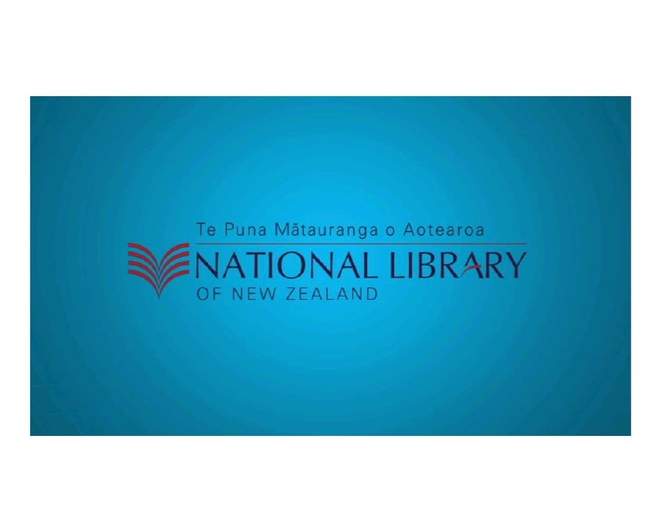 National Library of New Zealand Graphics