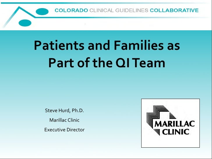 2009 06 09 Involving Patients In Qi Process