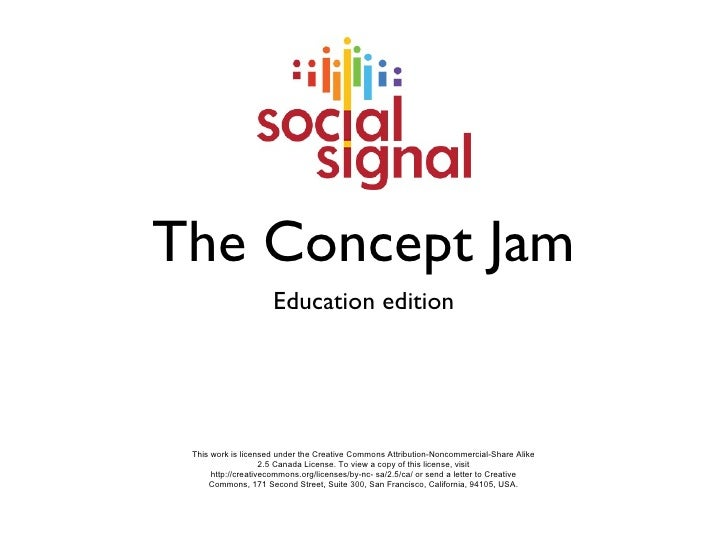 Social Signal - Concept Jam Presentation (Education edition)