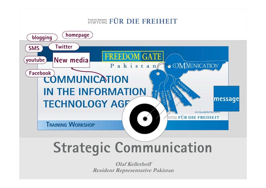 2009-12-16 FNF PAK - Strategic Communication