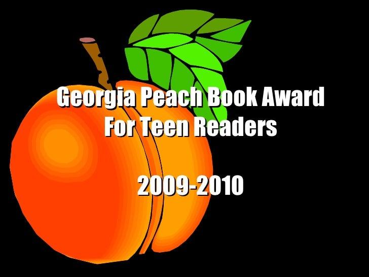 2009-2010 Peach Book Award Nominees