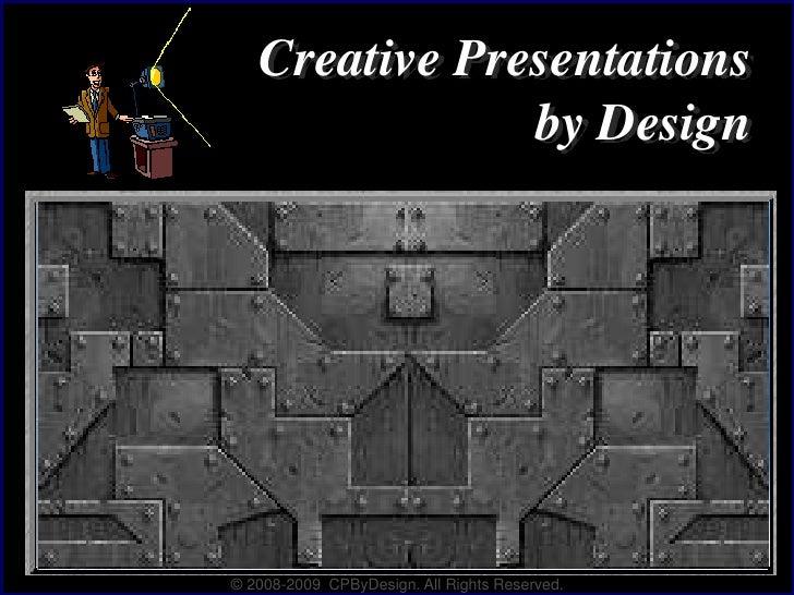 2009 B Presentation