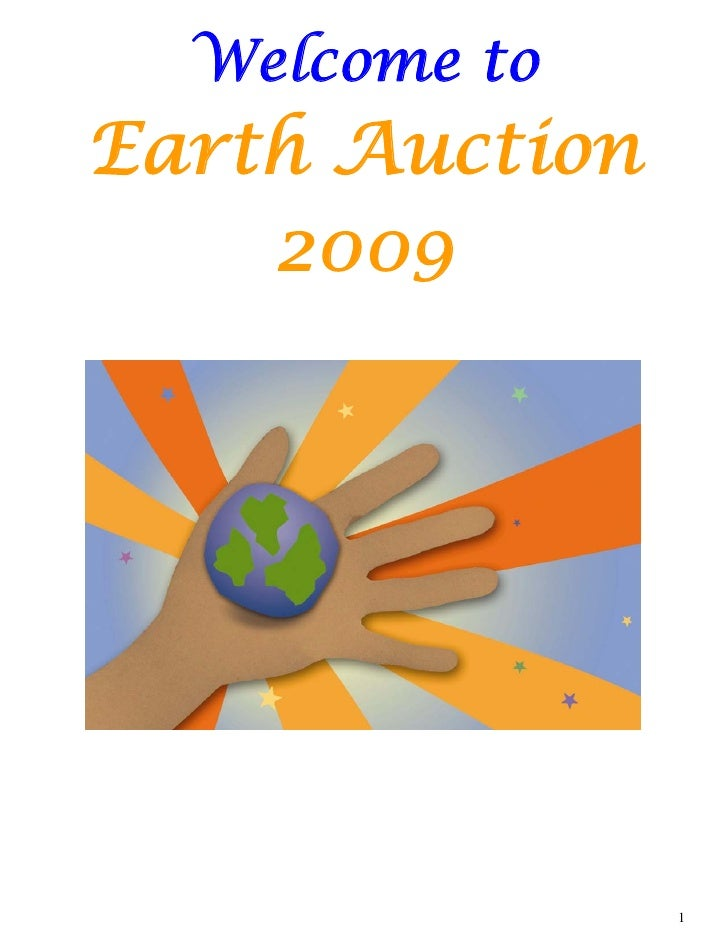 2009   Final Silent Auction Catalog