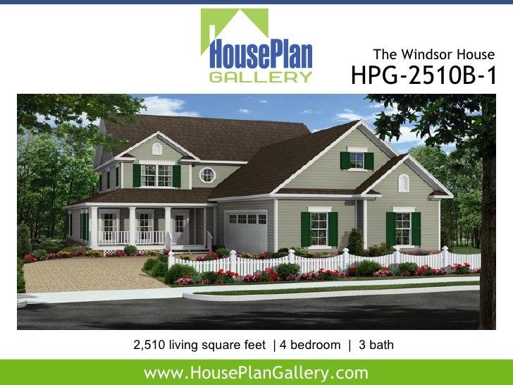 The windsor house plan house design plans for Windsor homes floor plans