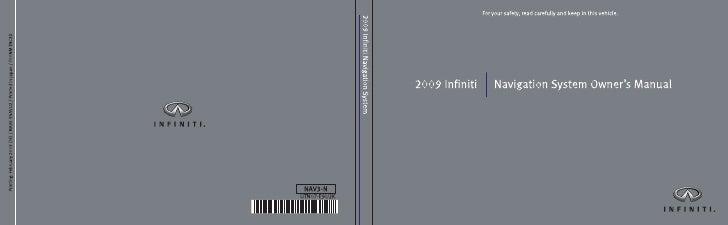 2009 Infiniti Navi