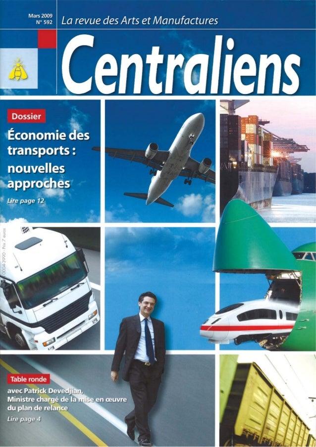 2009 mensia-centraliens prix transports