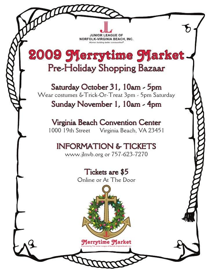 2009 Merrytime Market Flyer