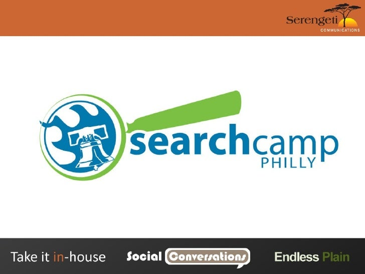 2009 Philly Search Camp Social Media Fundamentals