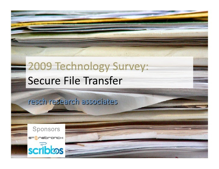 2009 Secure File Transfer Research