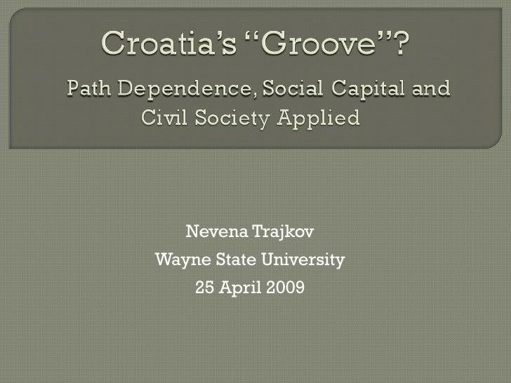 2009 Trajkov Social Capital