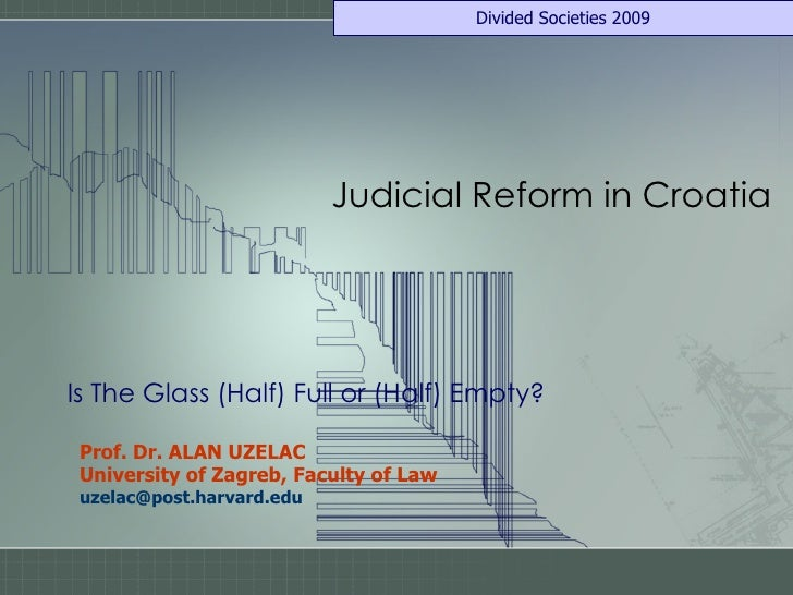 2009 Uzelac Croatia Legal Reform