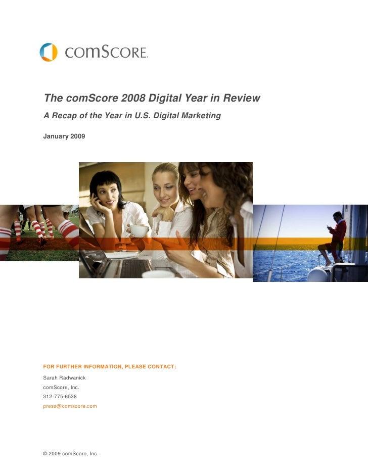 2008 Digital Year In Review