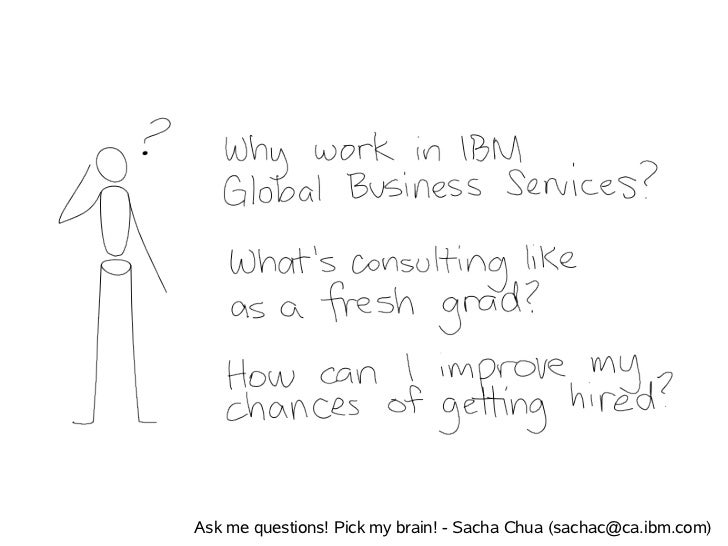 Ask me questions! Pick my brain! - Sacha Chua (sachac@ca.ibm.com)