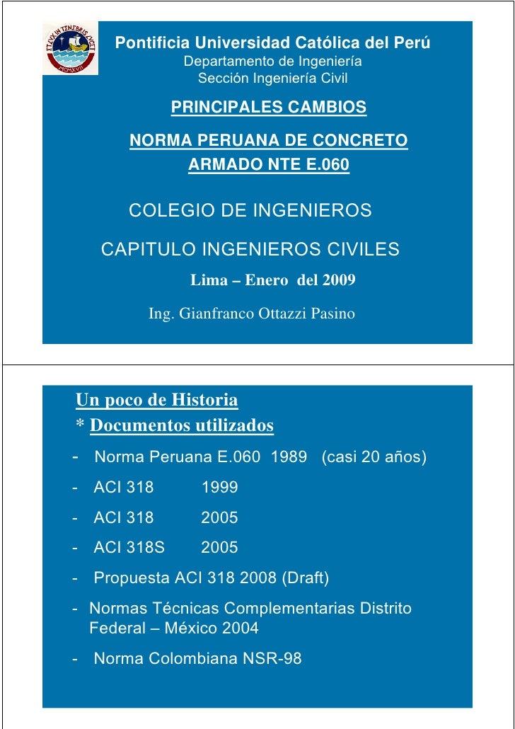 Norma Tecnica E060 Concreto Armado