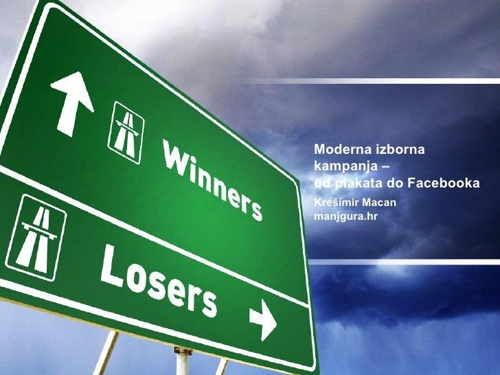 20090212 Primjena.Com Moderna Izborna Kampanja On Line
