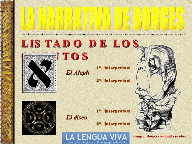LA NARRATIVA DE JORGE LUIS BORGES