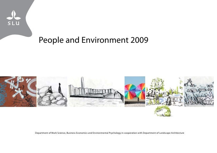 People and Environment 2009 - Landscape Architecture Programme