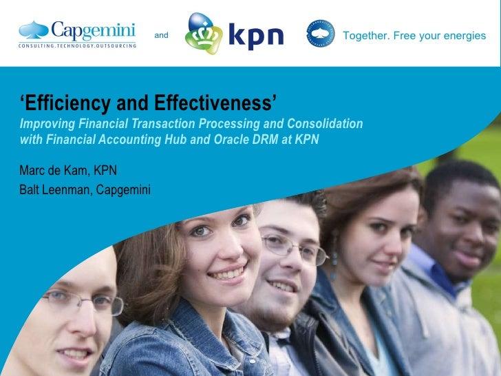 Capgemini Kpn Presentation Obug 2009
