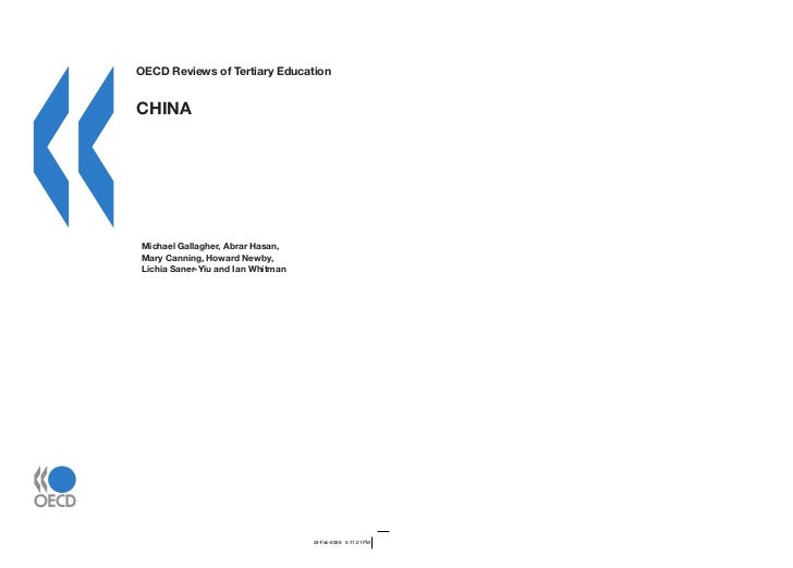 20090502 oecd tertiary-review_china