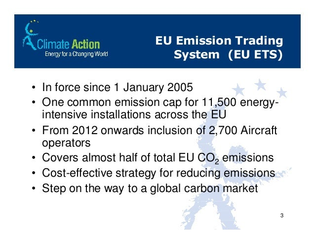 Emission trading strategies