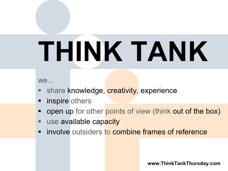 biyanis think tank concept Think tank concepts inc is a business service located in boca raton, florida view contact info, employees, products, revenue, and more.