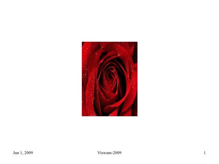 20090602   Emotion Of Love   59s   Vivekananda Institute of Human Excellence, Ramakrishna Math, Hyderabad