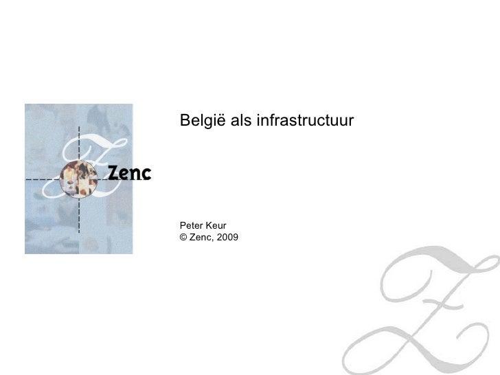 België als infrastructuur