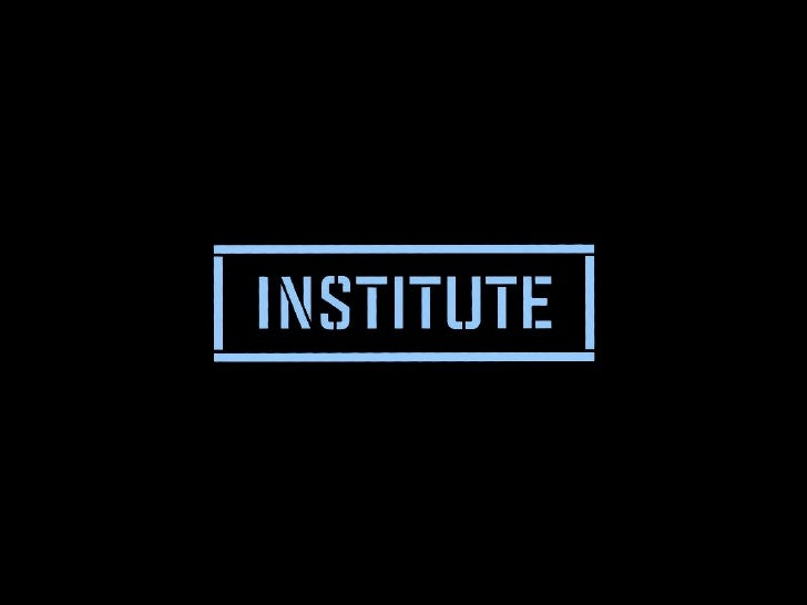 The Institute for Architecture and Urban Studies