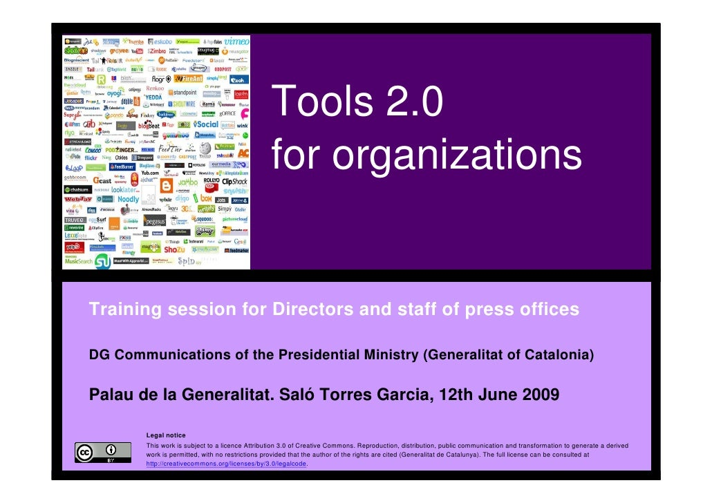 Tools 2.0                                                     for                                                     orga...