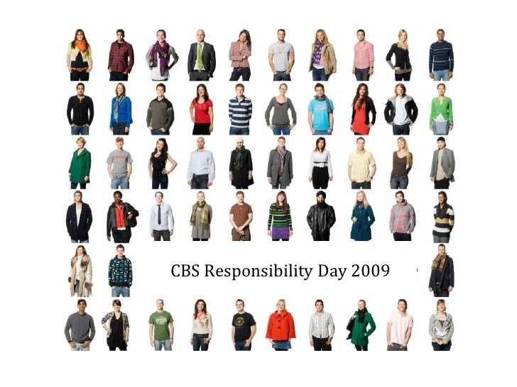 CBS Responsibility Day 2009 <br />