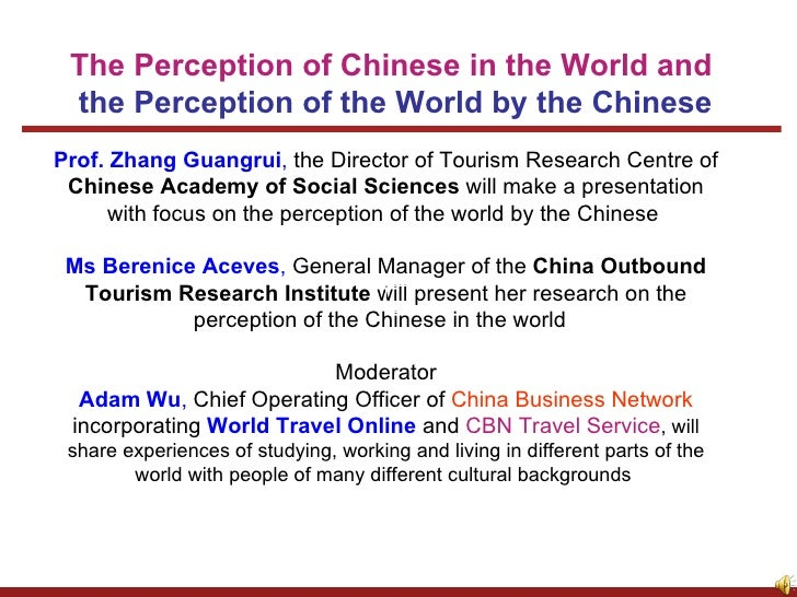 Prof. Zhang Guangrui ,  the Director of Tourism Research Centre of  Chinese Academy of Social Sciences  will make a presen...