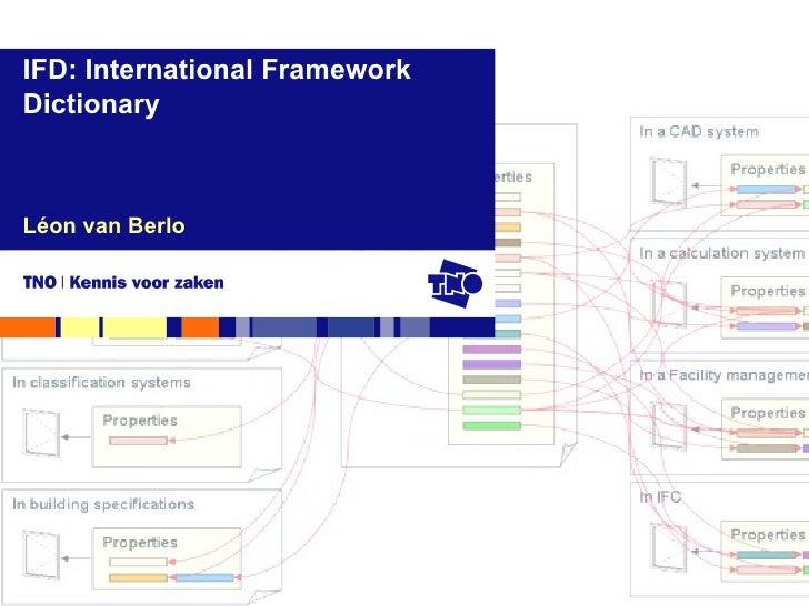 Léon van Berlo IFD: International Framework Dictionary