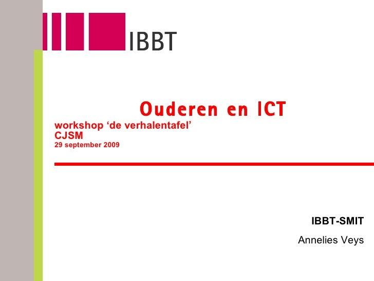 Ouderen en ICT
