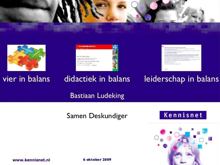 Didactiek in Balans SD6okt09
