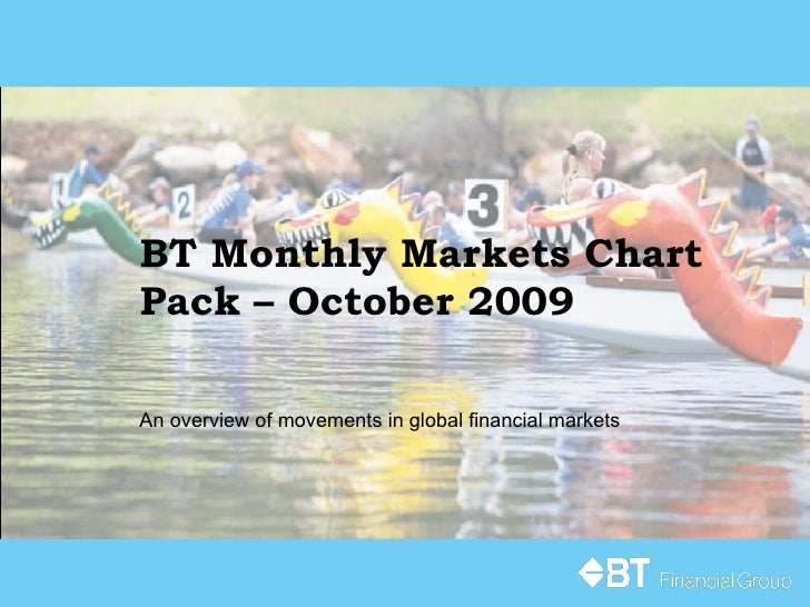 BT Monthly Markets Chart Pack – October 2009 An overview of movements in global financial markets