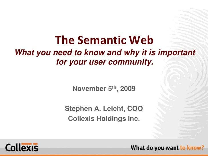 XXIX Charleston   Semantic Web Leicht