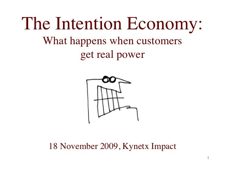 The Intention Economy: