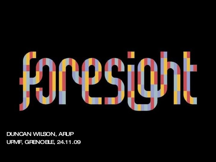 Foresight at Arup
