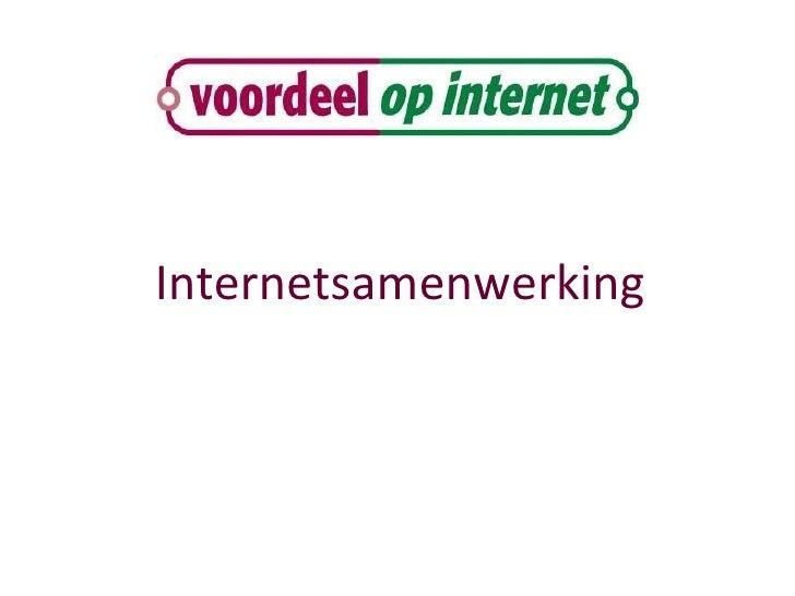 Internetsamenwerking